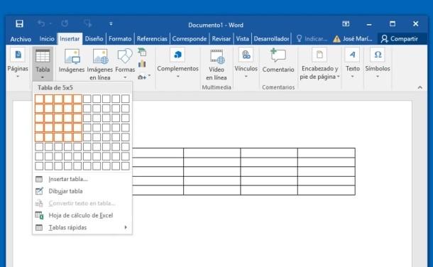 Cómo hacer o crear una hoja cuadriculada en Word para imprimir