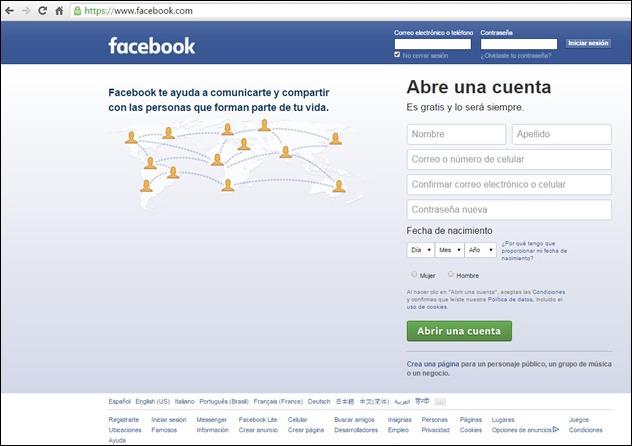 Cómo recuperar una cuenta de Facebook