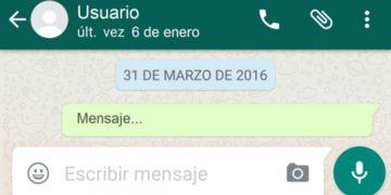Cómo poner última conexión de WhatsApp falsa