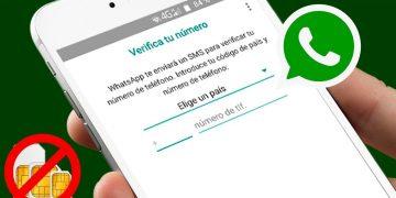 Activar WhatsApp sin SIM