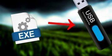 Cómo copiar un programa instalado en mi PC a un USB