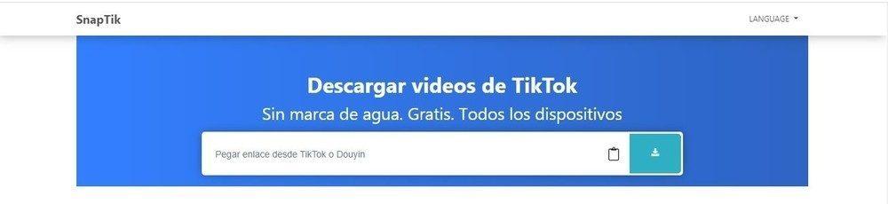 Como descargar vídeos de TikTok