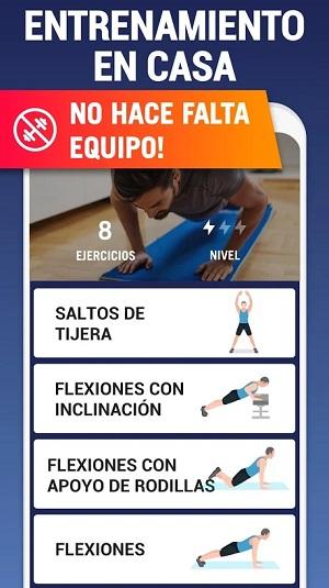 Aplicaciones para ejercitarte en casa sin ir al gimnasio