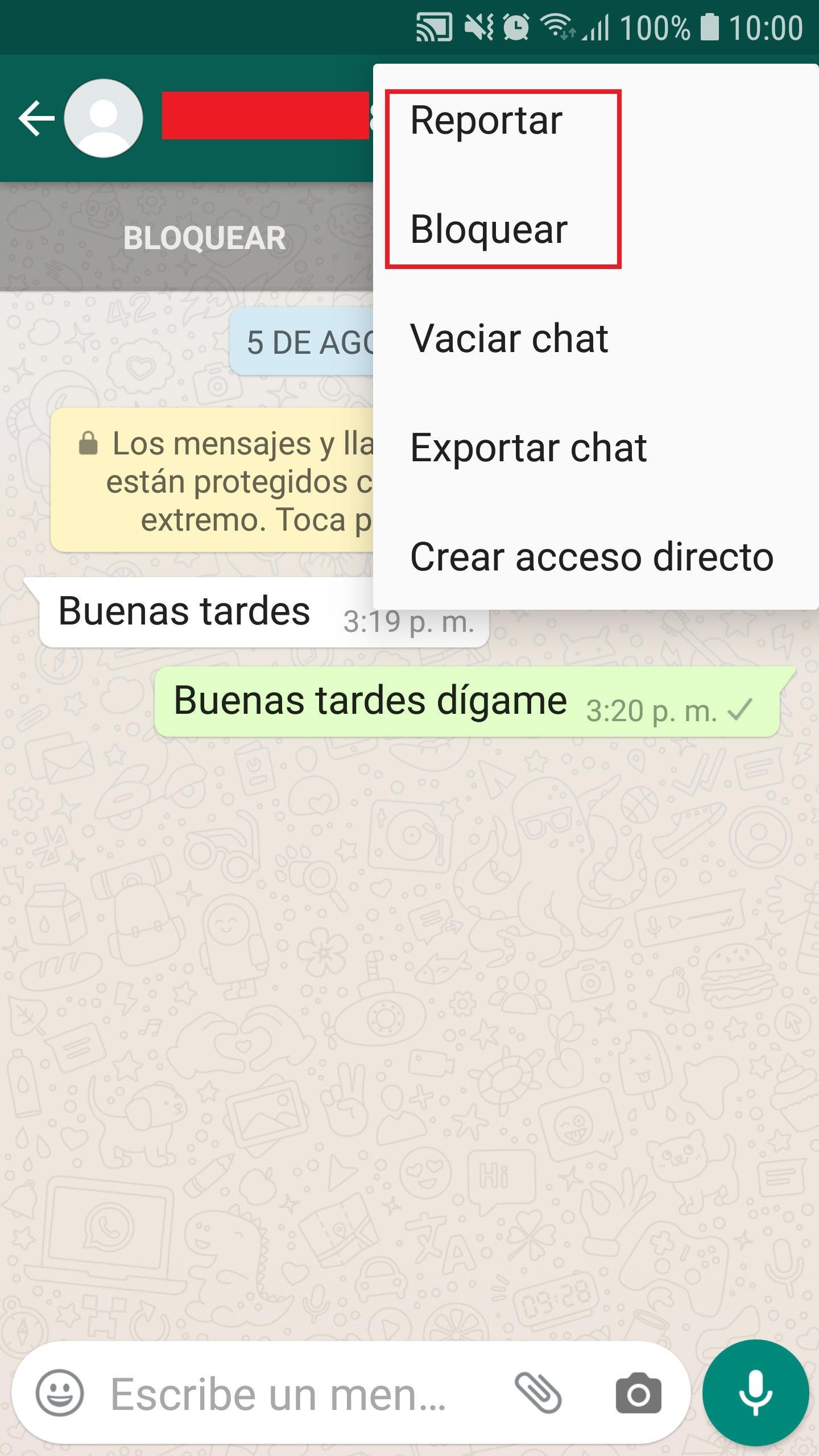 Cómo saber si te bloquearon en WhatsApp