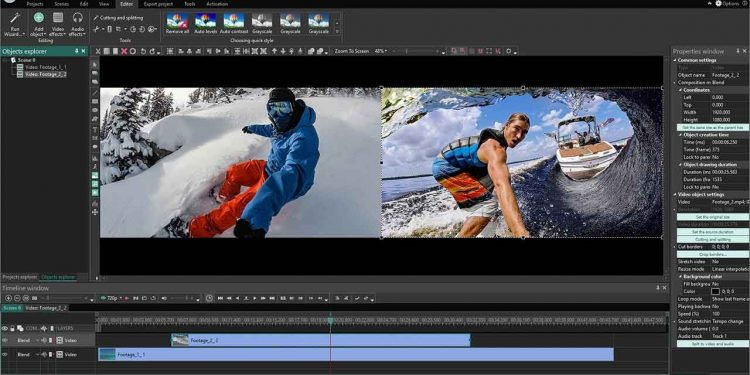 Programas para editar vídeos gratis sin marcas de agua