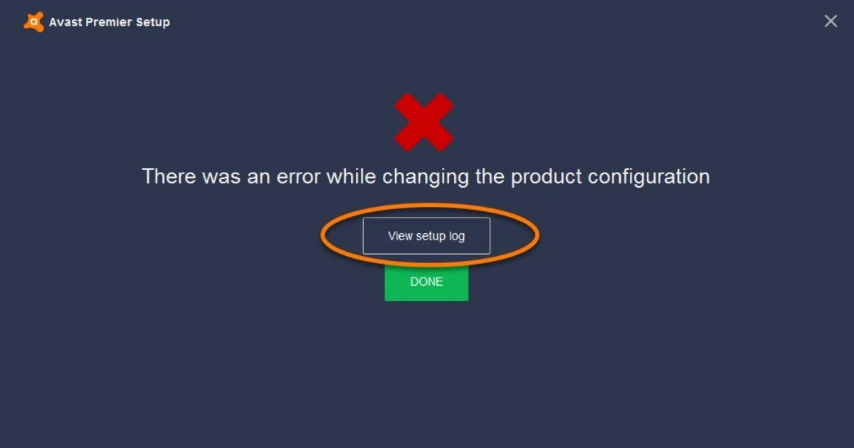 Problemas con el instalador sin conexión de Avast