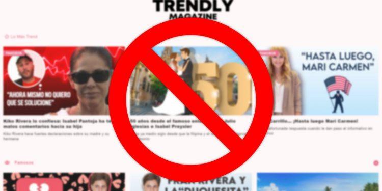 Cómo dar de baja Trendly