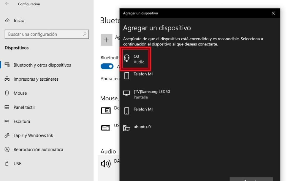 Conectar auriculares bluetooth a un ordenador con Windows
