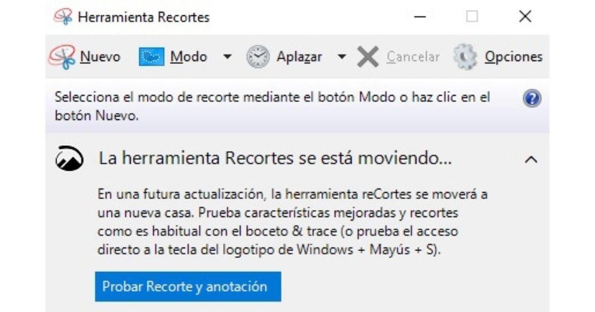 capturas de pantalla en Windows 10