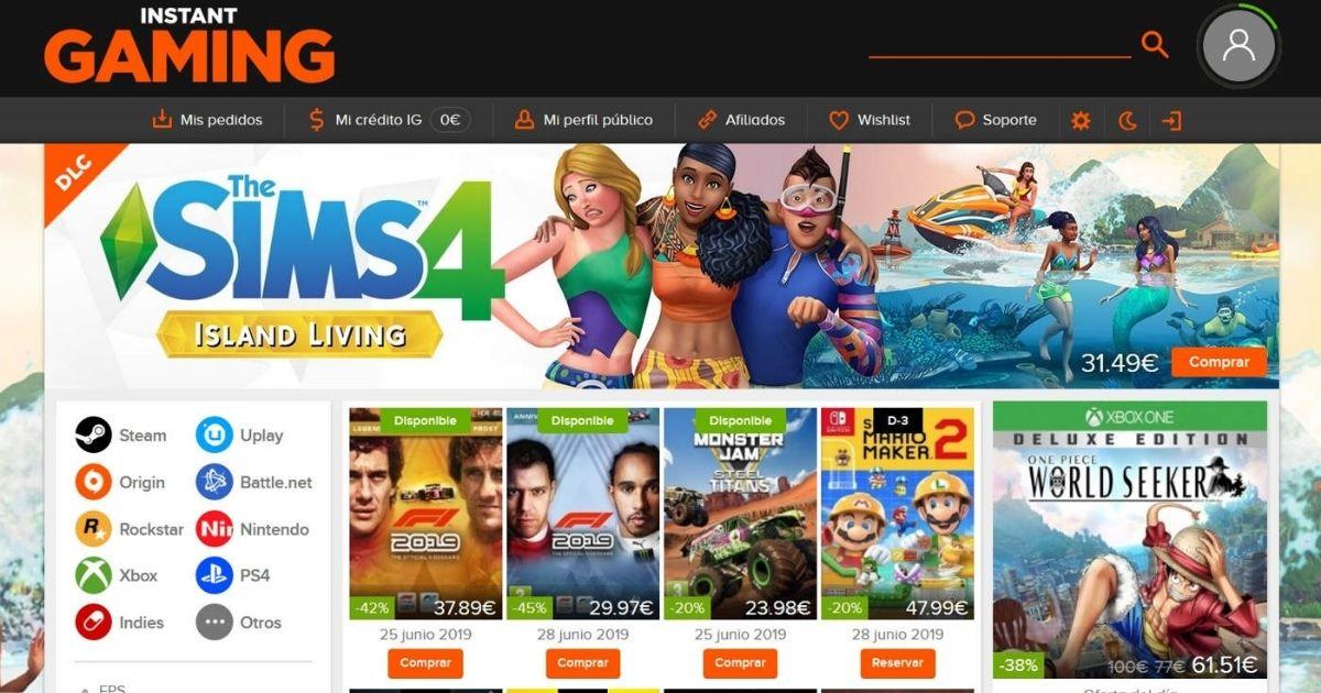 juegos baratos instant gaming