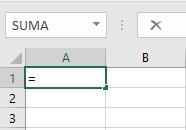 escribir una potencia en Excel
