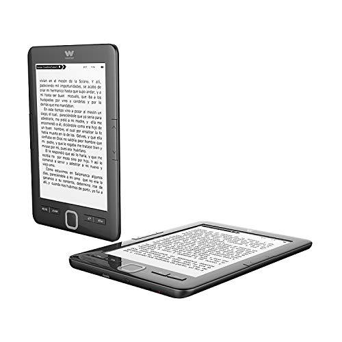 Woxter E-Book Scriba 195 Black Lector de libros electrónicos 6