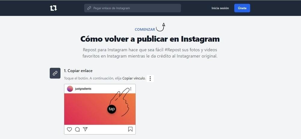 Cómo compartir una historia de Instagram en un estado de WhatsApp