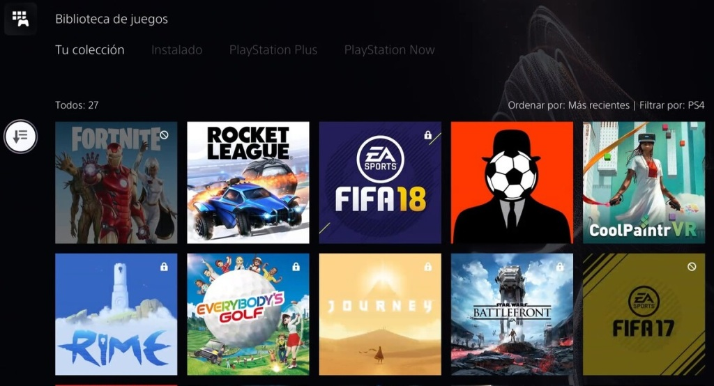 Cómo eliminar aplicaciones PlayStation 5