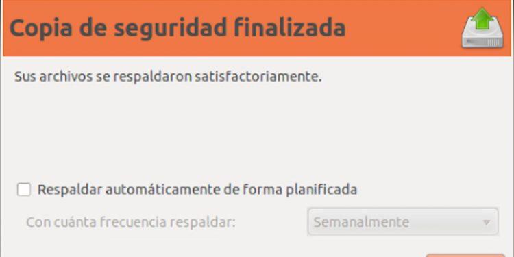 Cómo hacer una copia de seguridad de tus datos en Ubuntu