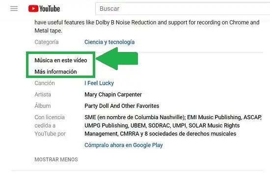 Cómo identificar canciones en vídeos de YouTube