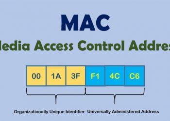 saber la dirección MAC