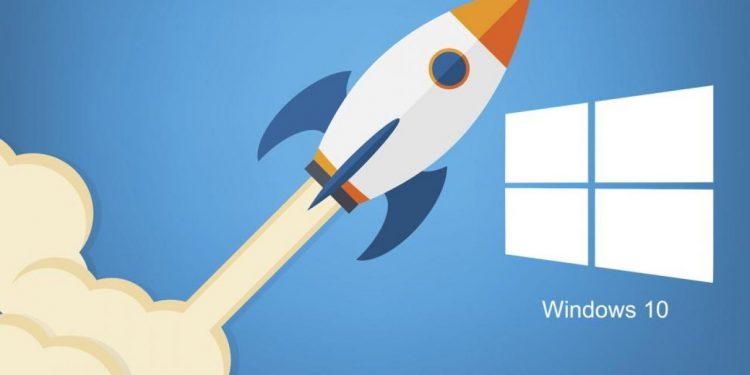 Cómo acelerar el inicio de Windows 10
