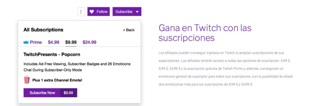 Cómo ganar dinero con Twitch
