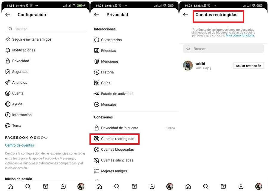 Cómo leer mensajes en Instagram sin que aparezca visto