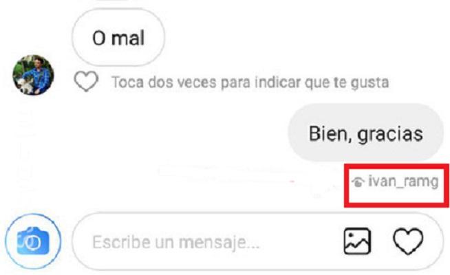 Cómo saber si han leído mensaje Instagram