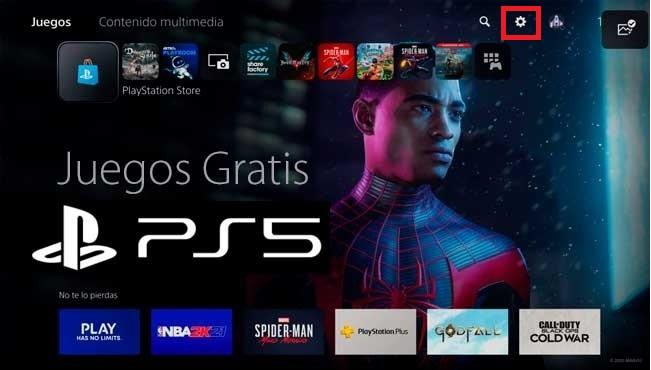 Cómo ver historial de compras PlayStation 5