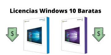 Licencias de Windows 10 baratas