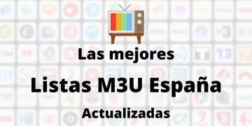 Listas M3U España