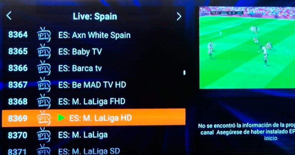 Listas IPTV Movistar